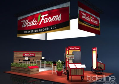 wada-farms-custom-built-20x30-trade-show-display-with-hanging-truss-lighting-banners-02