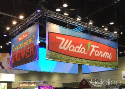 wada-farms-custom-built-20x30-trade-show-display-with-hanging-truss-lighting-banners-19