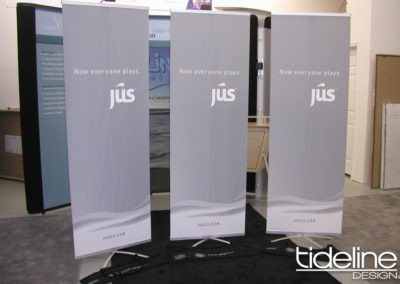 Various Tech Bannerstands