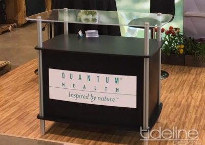 Quantum Health Product Space Counter