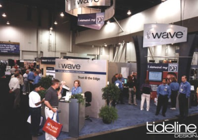Wave 30×50 Comdex Booth