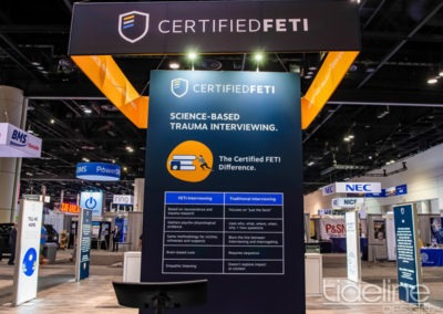Certified_FETI-IACP-tradeshow-2018-island-booth-custom-flooring-counters-stands-hanging-banner-6